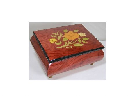 Musical Jewellery Box MAD415FLRDL